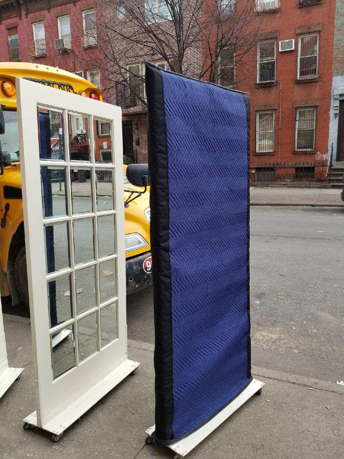 Custom blanket Door cover