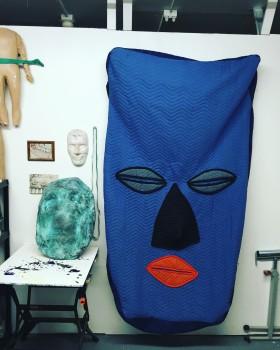 Custom Blanket Cover Museum-Face Mask